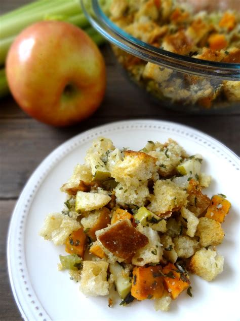 sweet potato apple stuffing