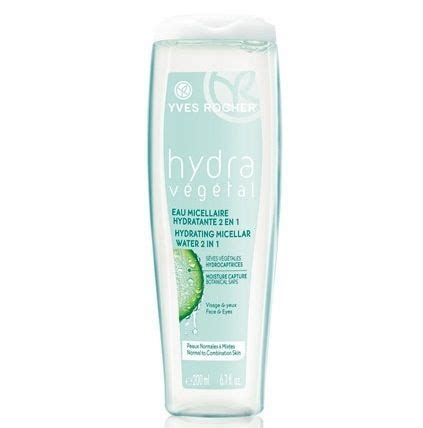 Yves Rocher Hydra Vegetal Tonique Hydrating 200ml yves rocher hydra vegetal hydrating micellar water 2 in 1 cleanser soap free fall cleansers