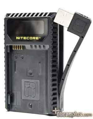 Charger Baterai Universal Indikator Lu nitecore nku1 usb charger baterai dengan led indikator