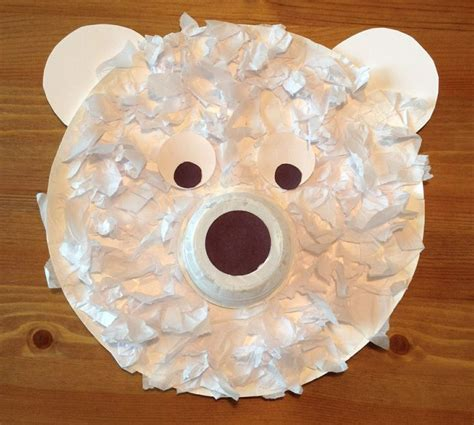 paper plate polar craft discover and save creative ideas