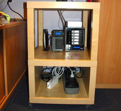 Small Home Server Rack Home Office A Cheap Ikea Server Rack General