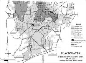 florida wma map blackwater wildlife management area florida wildlife