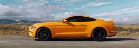 2018 Mustang Side View by View A Walkaround Of The 2018 Ford Mustang