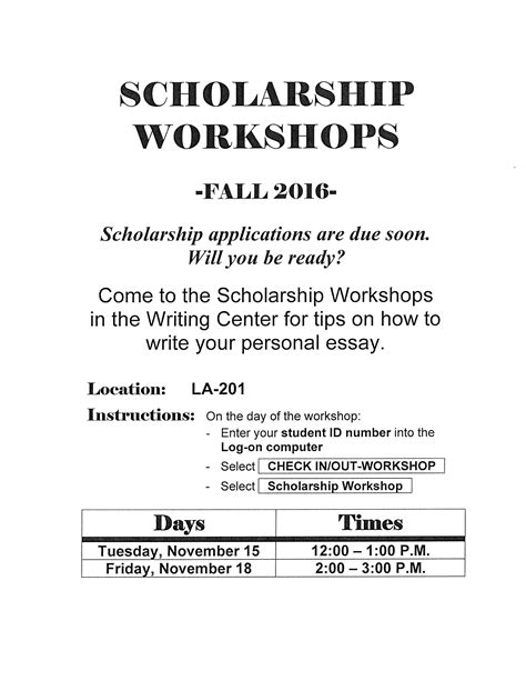 Scholarship Letter Explaining Financial Need Personal Statement Or Essay