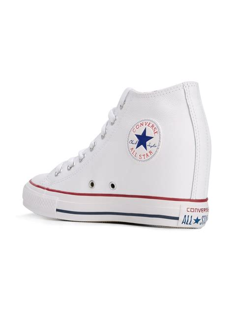 converse wedges sneakers converse chuck all wedge sneakers in