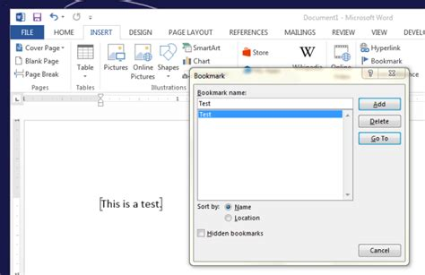 word cannot open this document template how to rename a bookmark in ms word 2013