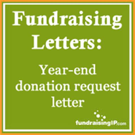 Fundraising End Of Year Letter Sle Fundraising Letter Year End Donation Request Letter