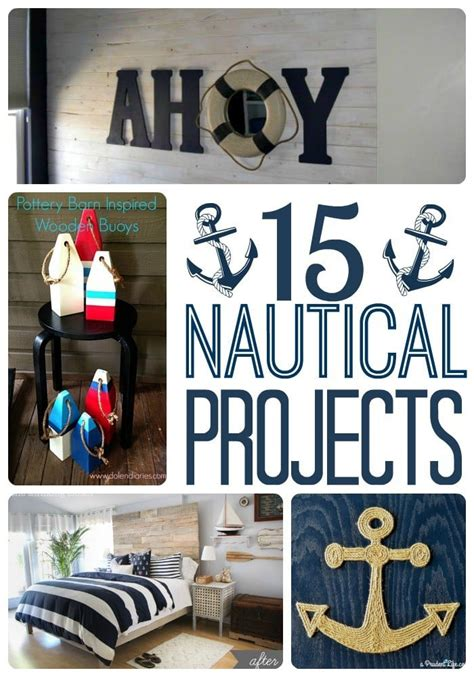 diy nautical home decor diy nautical decor roundup polished habitat