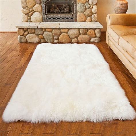 white fluffy bedroom rugs best 25 faux fur rug ideas on
