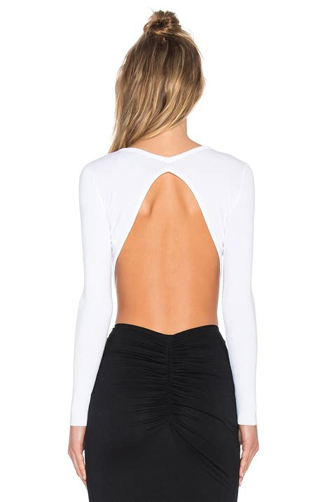 Lf Sweater Kylle White kendall knit crop sweater in white lyst