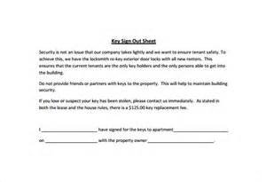 Key Register Template Free by Sign Out Sheet Template 9 Free Word Pdf Documents