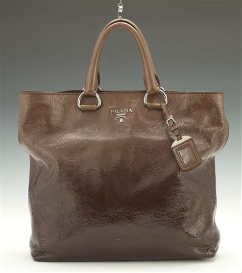 Prada Ombre Patent Leather Tote by Prada Mirtillo Ombre Patent Leather Shopper Tote 03 28 14