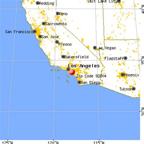 anaheim california map 92804 zip code anaheim california profile homes apartments schools population income