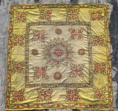 uzbek suzani embroidered textile used as throw wall hanging or 9 best images about suzani sold on pinterest