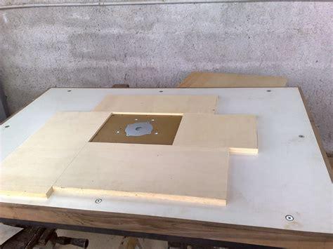 costruire banco fresa falegnameria in generale autocostruzione banco fresa