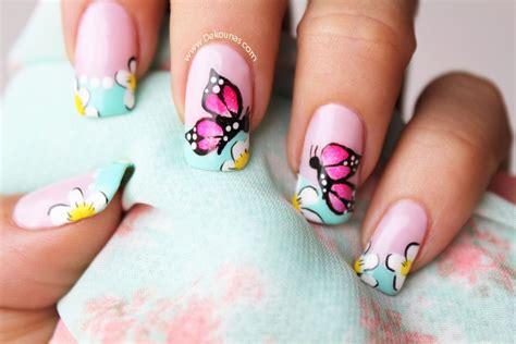imagenes uñas decoradas mariposas decoraci 243 n de u 241 as mariposas deko u 209 as moda en tus u 241 as