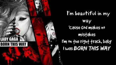 000824409x i was born for this lady gaga born this way lyrics youtube