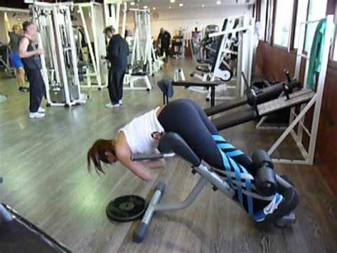 Exercice de musculation des lombaires : Extensions au banc