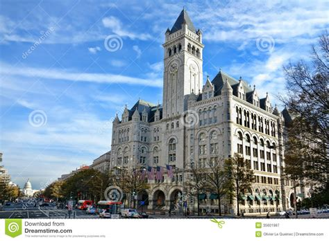 the post office pavilion in washington dc stock image
