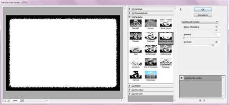 tutorial website maken photoshop tutorial kaders borders om je foto in photoshop