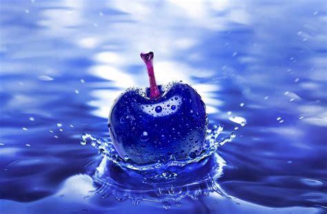 imagen fondo escritorio fondo pantalla fruto azul