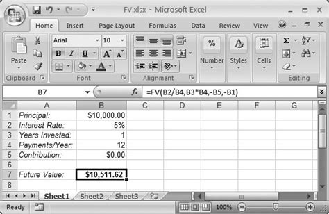 future value excel template section 10 2 financial functions excel 2007 c the