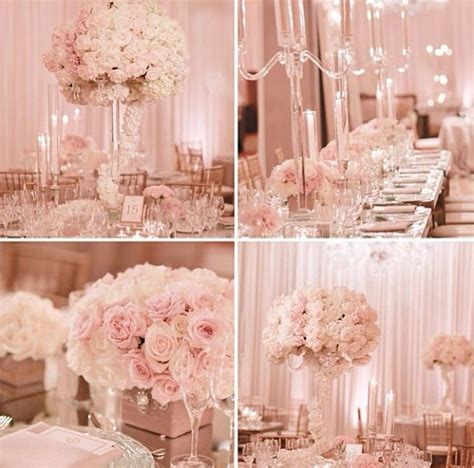 Pale Pink Wedding Decor soft pale pink white for a wedding 2015
