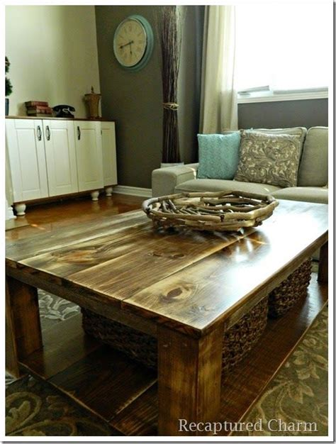 do it yourself the table do it yourself coffee table ideas woodworking projects