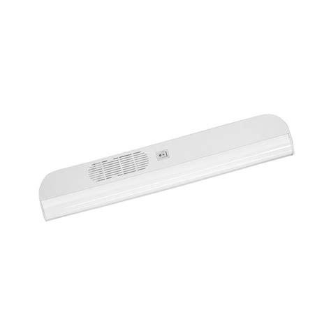 Westek 18 In Plug In Fluorescent White Cabinet Light Westek Cabinet Lighting