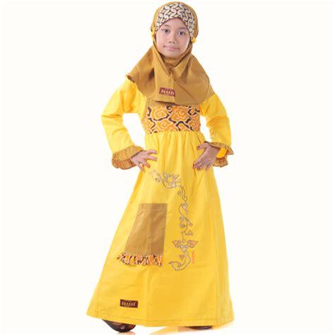 Baju Anak Muslim Kiddos Yuk Shalat detail produk baju anak muslimah mega kuning toko bunda