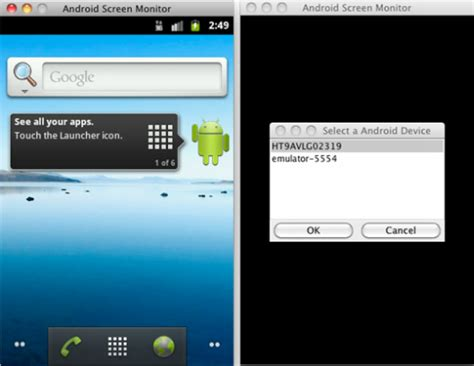android monitor take screenshot of android phone on pc with android screen monitor ubuntu