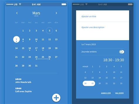 material design calendar css 20 material design mobile login and signup forms on air