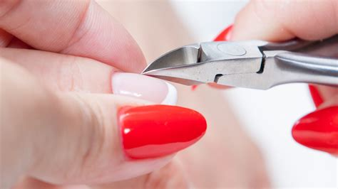 how to cut nails that are how to cut nail cuticles manicure tutorials