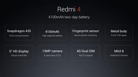 themes for redmi 4g the redmi 4 with snapdragon 435 soc comes to india for rs