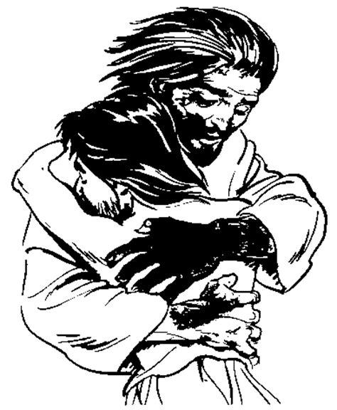 imagenes jesus blanco y negro dibujos