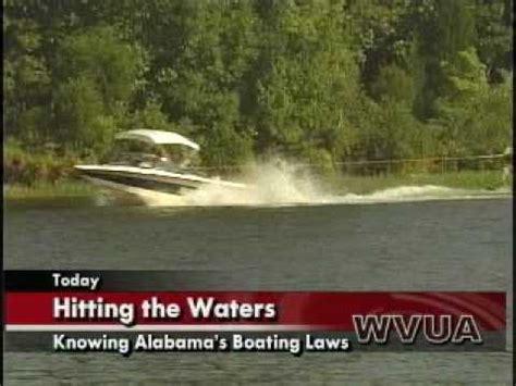 alabama s boating laws youtube - Alabama Boating Laws