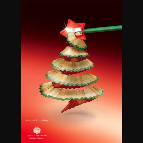 clever  funny christmas print ads design shack