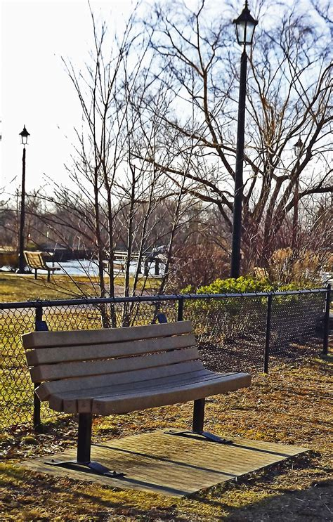 park bench nj park bench at old wharf park in oceanport nj love s