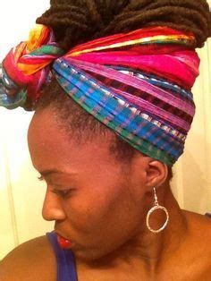 Loc Scarf Wrapped Hair Style Images Google Search Locs | pinterest the world s catalog of ideas