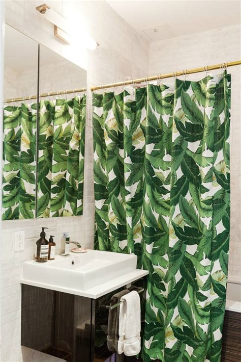 plants for windowless bathroom small and stylish apartment in brooklyn decoholic