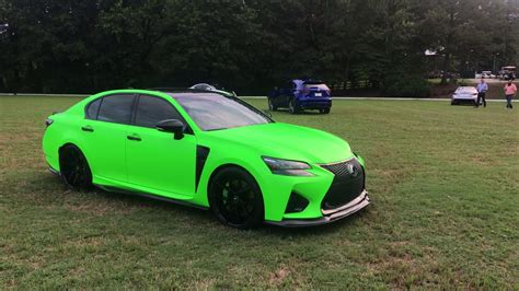 Lexus Of Roswell by Modified Lime Green Lexus Gs F Nalley Lexus Of Roswell
