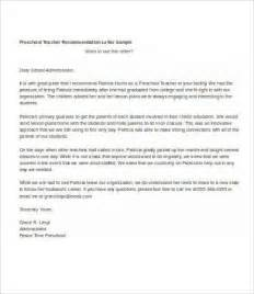 Reference Letter For Preschool From Parent Application Letter For Nursery