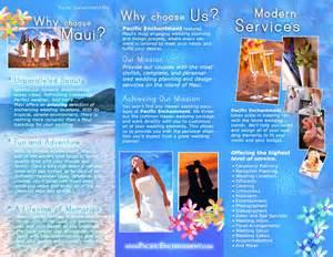 Hawaii Brochure Template by Brochure Sles Pics Brochure Of Hawaii