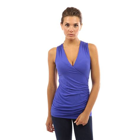Ruched V Neck Top womens v neck ruched fitted blouse shirt evening cocktail