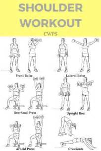 shoulder workout at home 25 best ideas about deltoid workout on