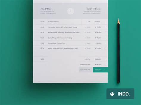 35 striking invoice designs web graphic design bashooka