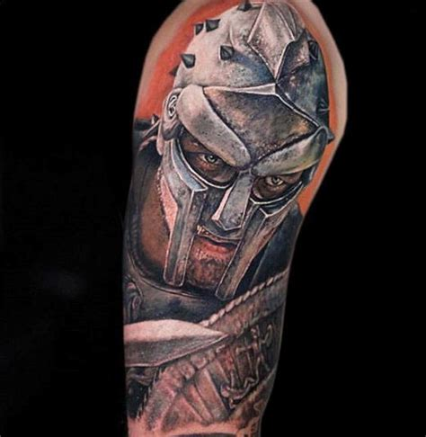 roman armor tattoo 50 gladiator ideas for hitheaters and armor