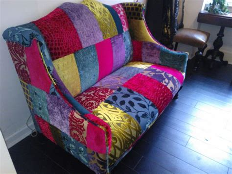 48 best patchwork chairs sofas upholstery images on