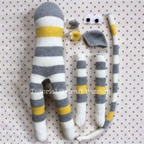 diy craft ideas 12 socks made animal soft toys for diy craft ideas gardening