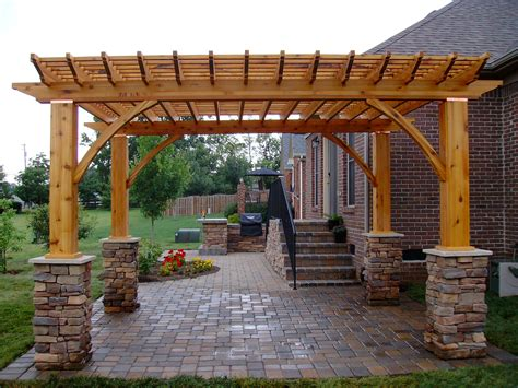 back yard pergola outdoor grills grilling accessories raleigh and wilmington